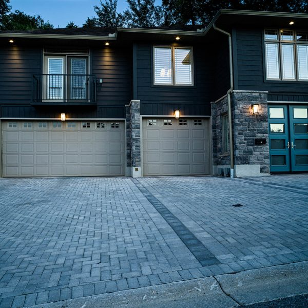 Heated Driveway and Facade Renovation